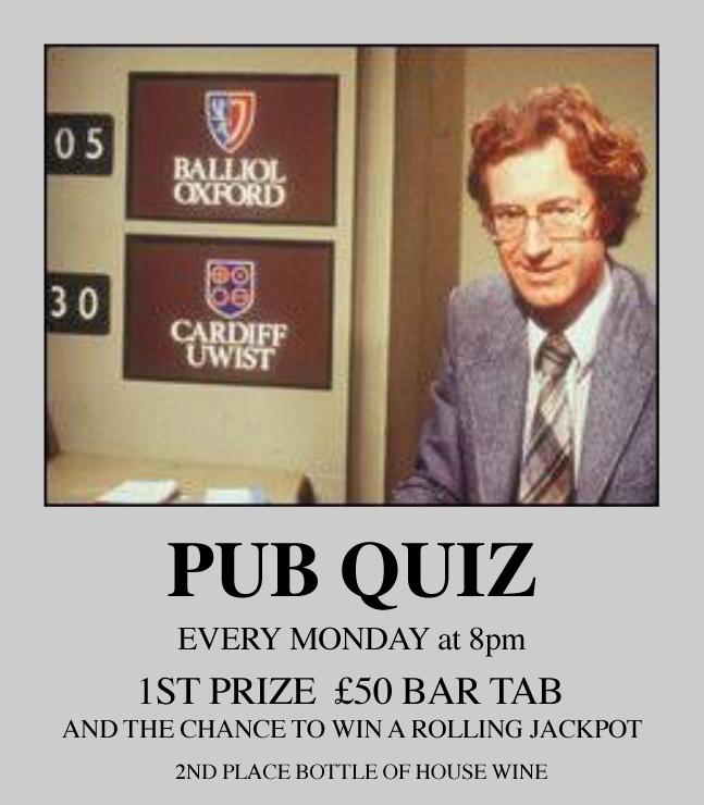 Pub Quiz at the Crooked Billet E5