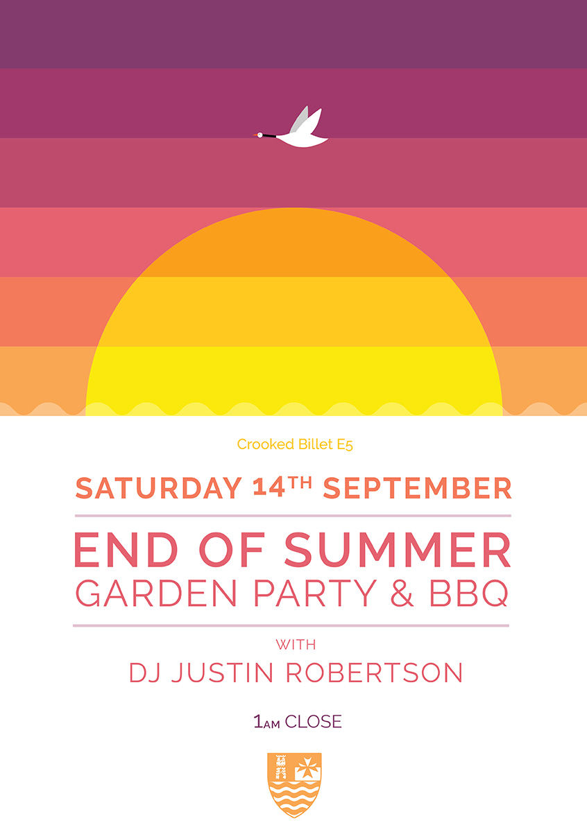 Crooked Billet END OF SUMMER GARDEN PARTY & BBQ